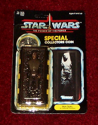 Power of the force 92 back han solo carbonite