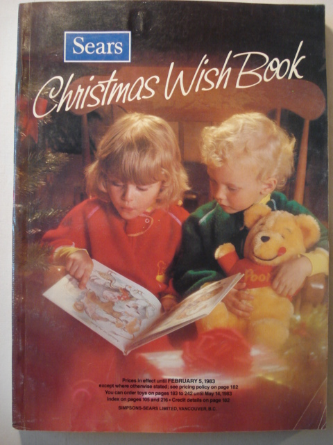 Sears 1982 Christmas Catalog - Star Wars Collectors Archive