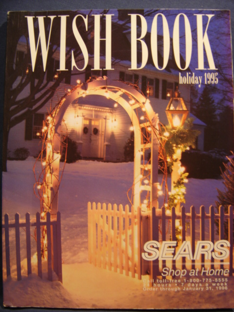 sears 1995 christmas catalog star wars collectors archive - Sears Christmas Catalog