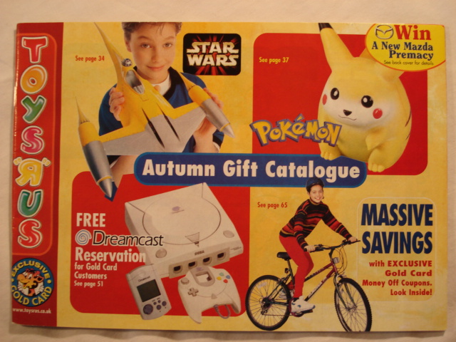 Toy R Us Store Catalog : Toys r us autumn catalog star wars collectors archive
