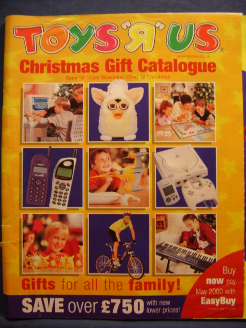 Toy R Us Store Catalog : Toys r us christmas catalog star wars collectors