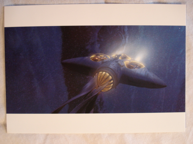 Gungan Bongo Submarine Postcard Star Wars Collectors Archive