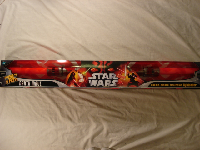 Darth Maul's Electronic Lightsaber (2006 Box) - Star Wars Collectors Archive