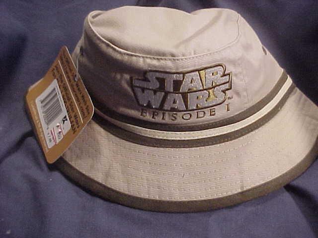 3f4666bb3 SW Episode 1 Logo Bucket Hat (Tan With Green/White Trim) - Star Wars ...