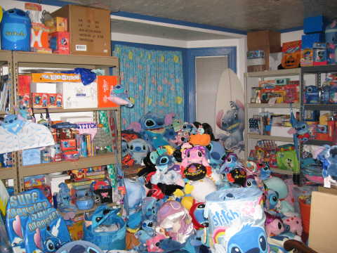 The Awesome Room Of Stitch