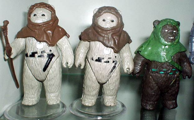 Scary Ewoks Star Wars Collectors Archive