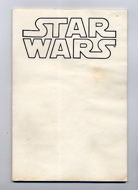 star wars notepad stationery star wars collectors archive