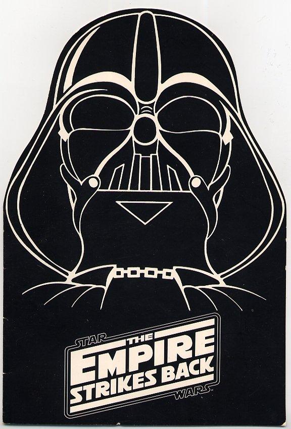 Empire Strikes Back Darth Vader Charity Screening Invitation Star