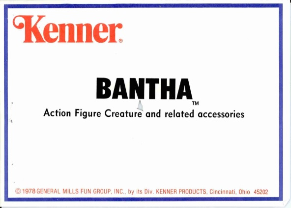 Bantha toy trademark