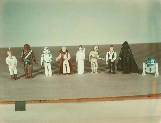 Mock-Up Star Wars Action Figures - Star Wars Collectors Archive
