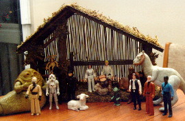 Star Wars Nativity Scene: Here's a custom diorama from a scene that ...