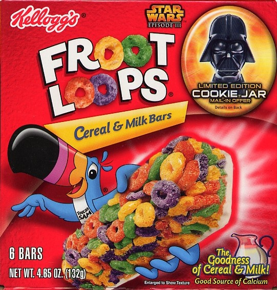 Froot Loops Cereal Bars Froot Loops Cereal  amp Milk Bars