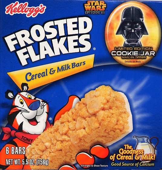 Frosted Flakes Cereal & Milk Bars 6-Pack Box