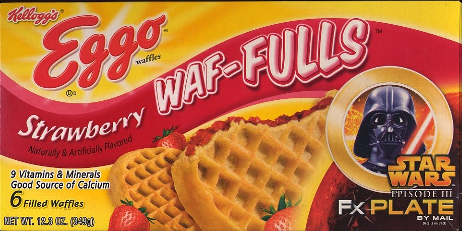 Eggo Strawberry Waf Fulls 6 Pack Box Star Wars