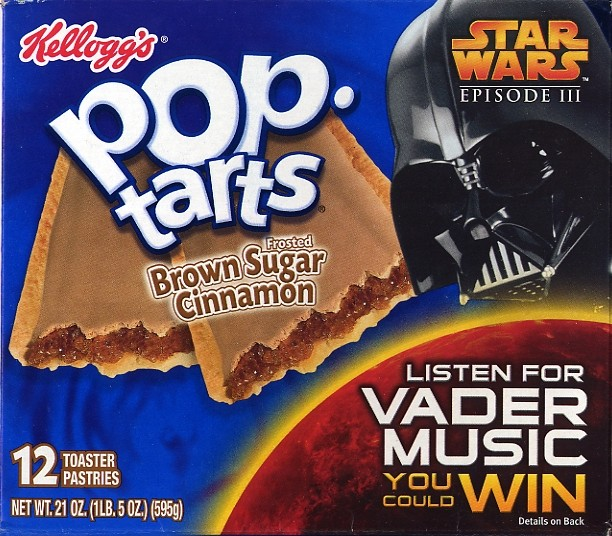 Brown Sugar Cinnamon Frosted Pop-Tarts 12-Pack - Star Wars Collectors ...