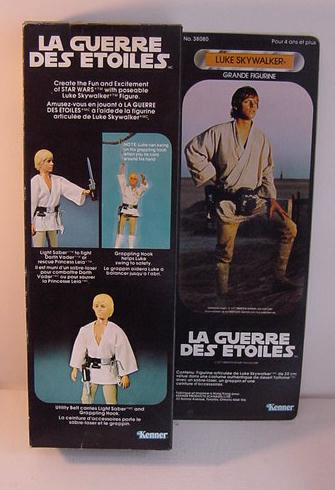 Luke Skywalker Large Size Action Figure - Star Wars Collectors Archive