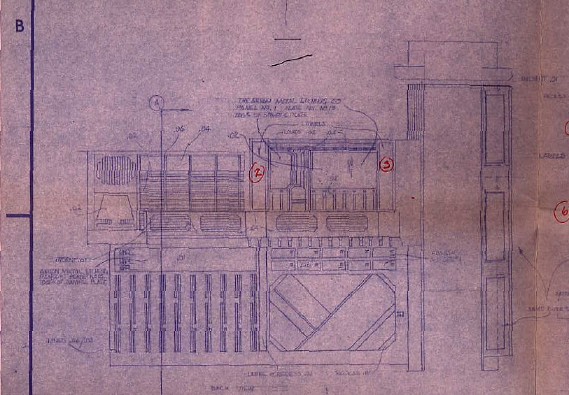 Blueprint for micro collection death star compactor heres a side view of the set note some hand written markings on the blueprint and the intricate detail in the drawing illustrating all the features of the malvernweather Image collections