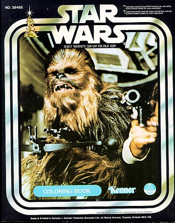 Kenner Canada Star Wars Coloring Books