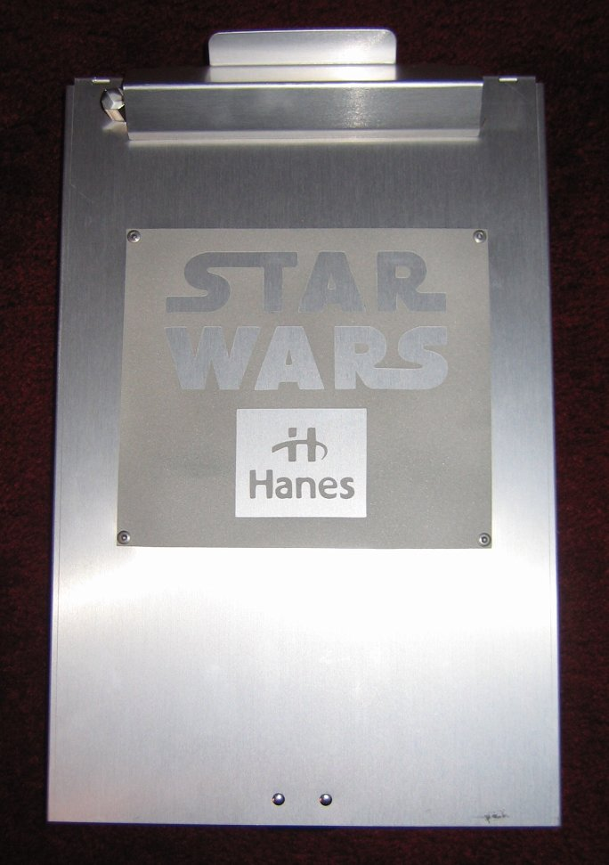 hanes product proposal binder star wars collectors archive