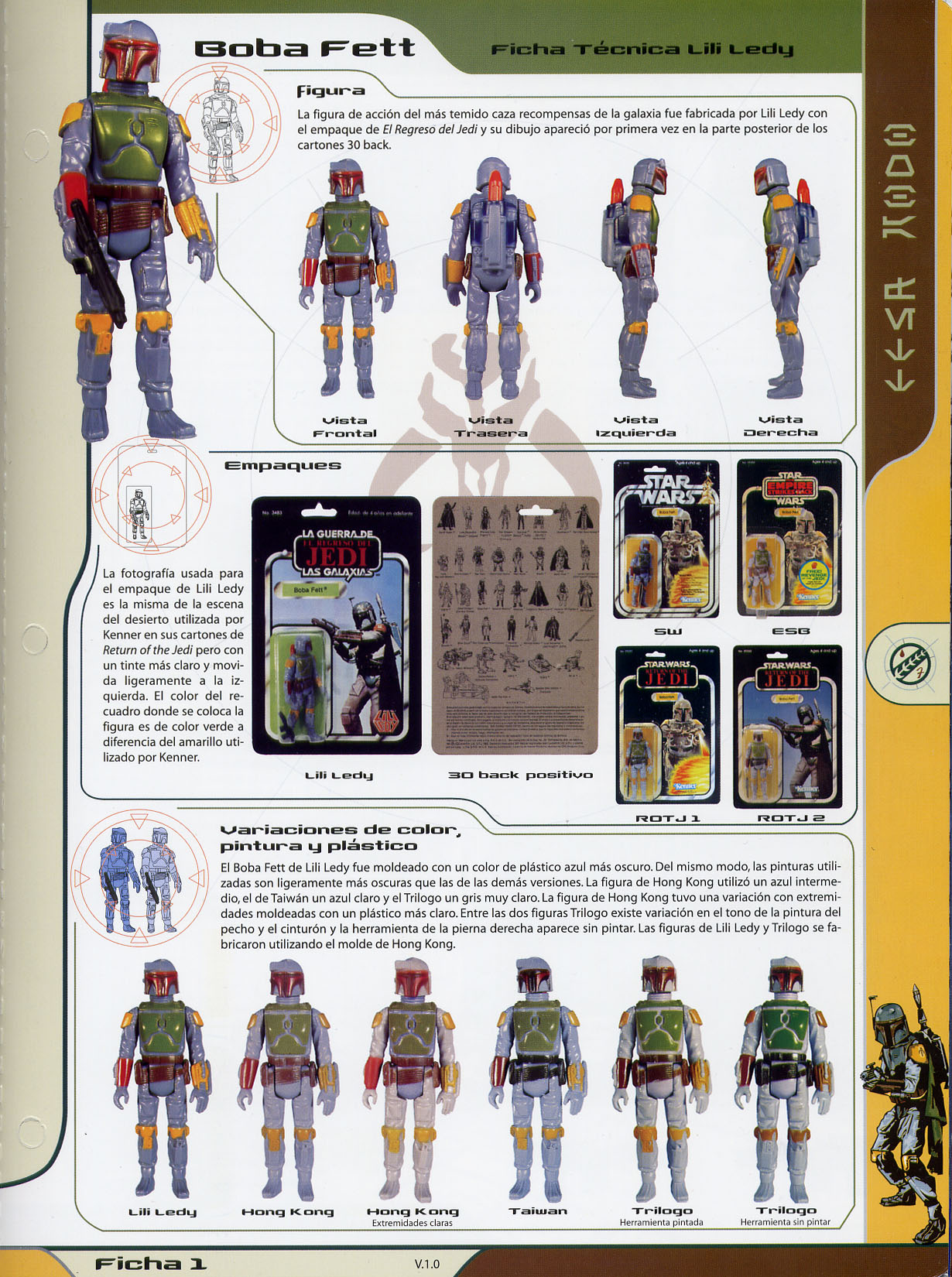 Boba Fett Loose variant – In depth discussion about discoloration and yellowing Universo-bobafett-front
