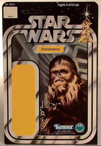 star wars 12-back chewbacca proof card
