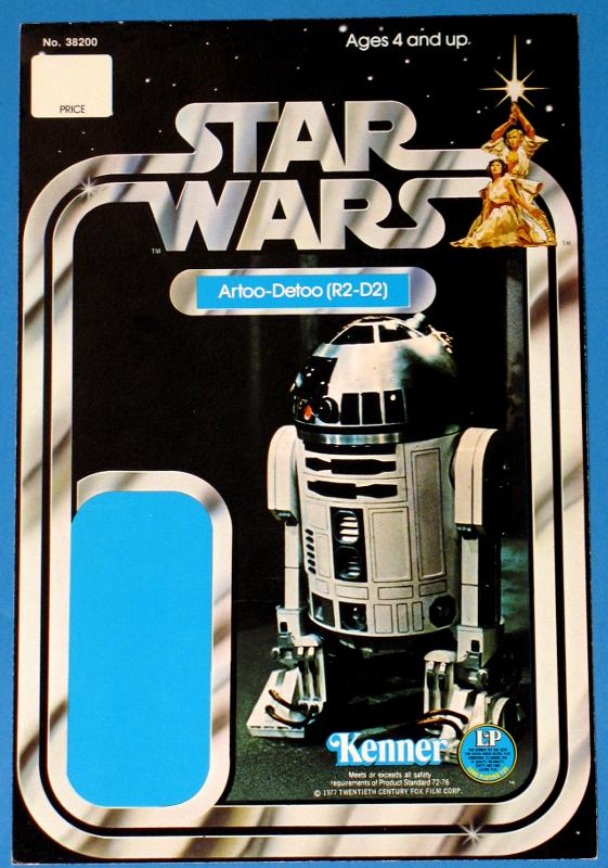 Star Wars 12-Back R2-D2 Proof Card - Star Wars Collectors Archive