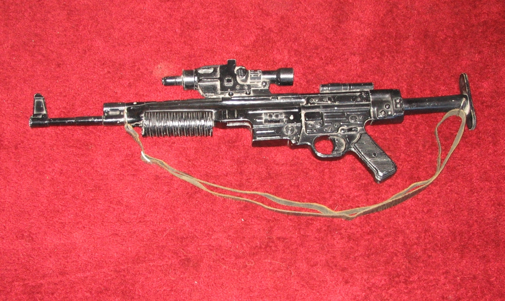 Real life guns that were used to make the firearms of star wars part
