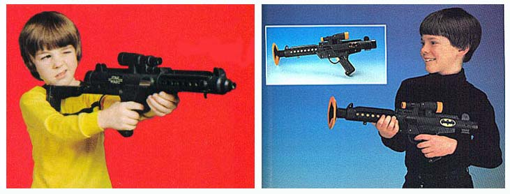 Star Wars Toy Guns : Recycling of the force