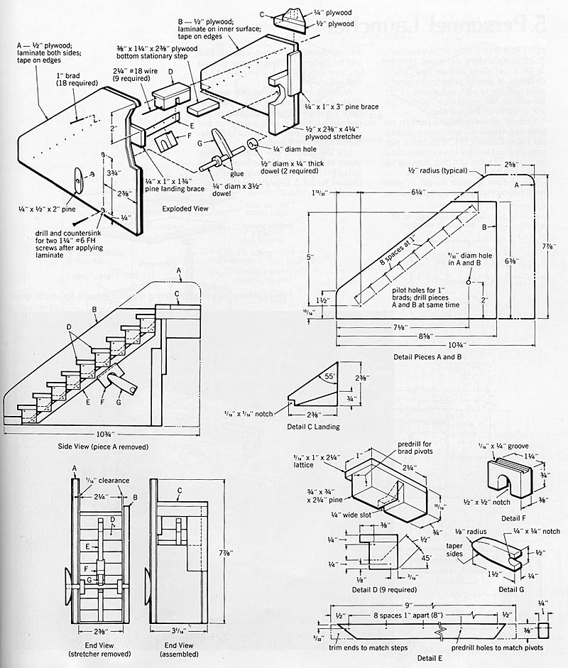 Building Instructions: Trick Staircase