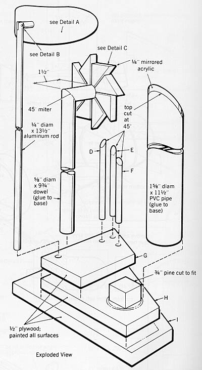 building instructions  weather station  on upper monorail