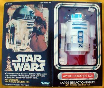 r2 d2 large size action figure star wars collectors archive