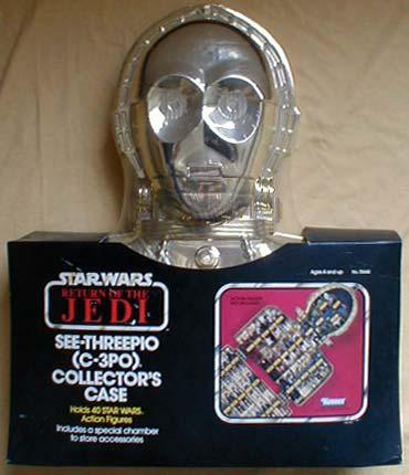 STAR WARS Kenner Darth Vader Carry Case  C3pocase-front
