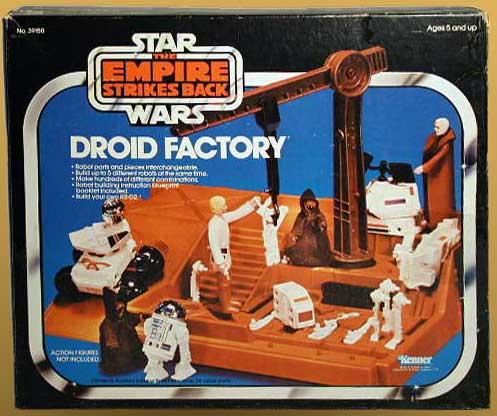 Amazon.com: Disney Star Wars Droid Factory R5-013, R2-C2 ...