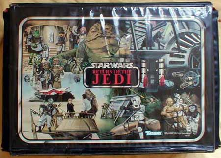 Merveilleux Vinyl Action Figure Collectoru0027s Case (ROTJ Model)   Star Wars Collectors  Archive