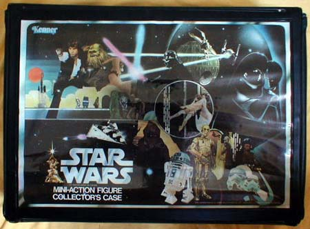 Kenner Toys Mini Action Figure Collectors Case