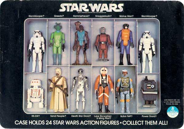 Mini Action Figure Collectors Case Star Wars Collectors