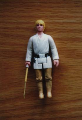 Star Wars Luke Skywalker Double Telescoping Lightsaber