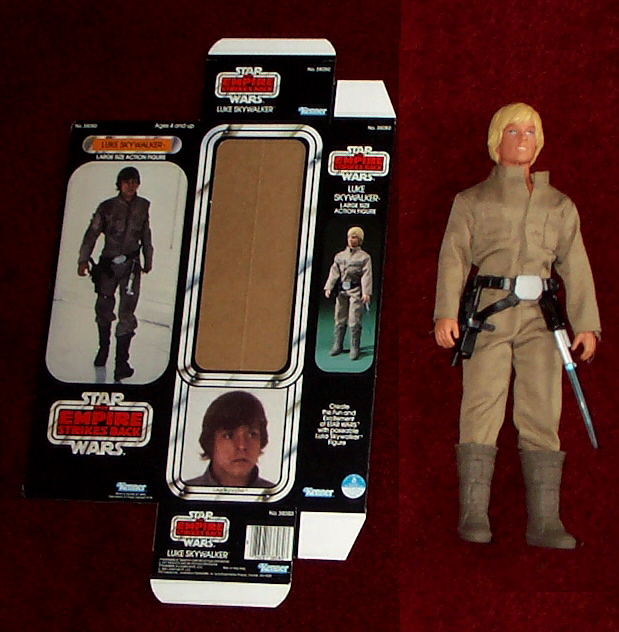 Used Star Wars Toys: Luke Skywalker Bespin Outfit Unproduced Large Size Action