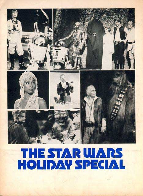 turns Star Wars Holiday Special